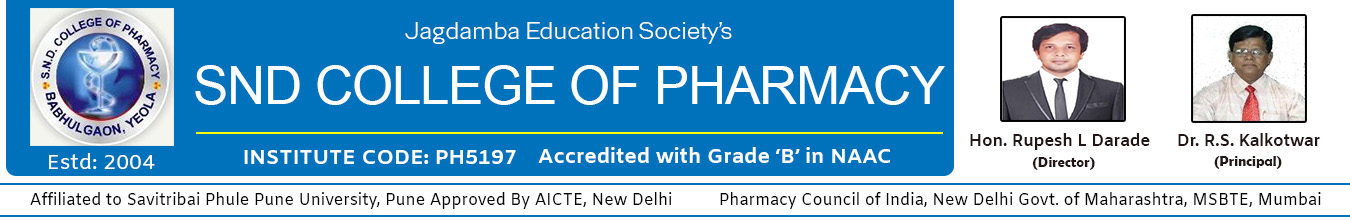 S. N. D College of Pharmacy